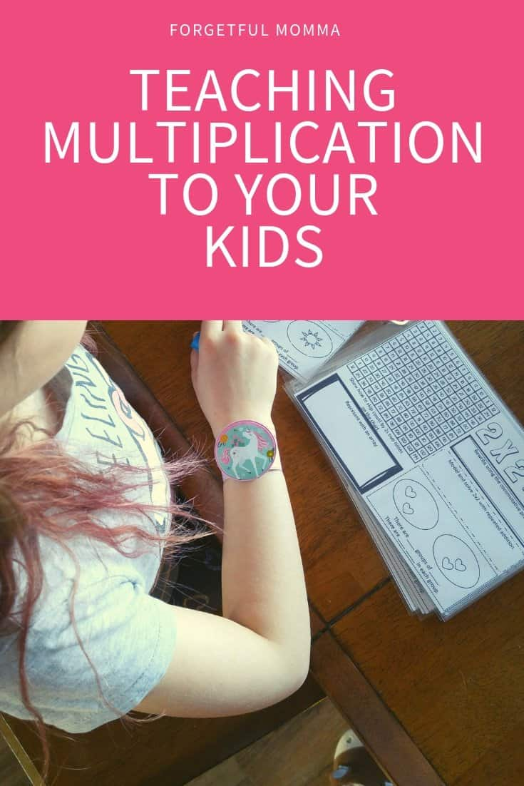TEACHING MULTIPLICATION TO YOUR KIDS