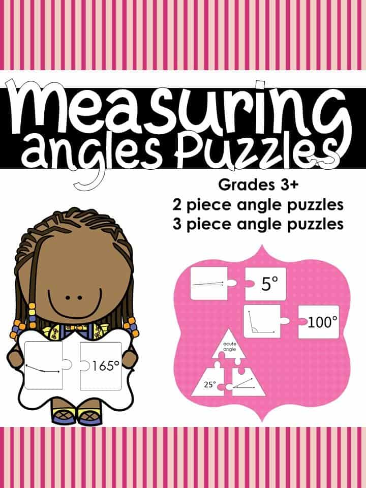 Angle Puzzles for Learning and Extra Practice