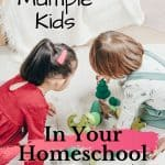 Homeschooling Multiple Kids with Ease - kids playing