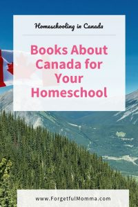 Books About Canada for Your Homeschool