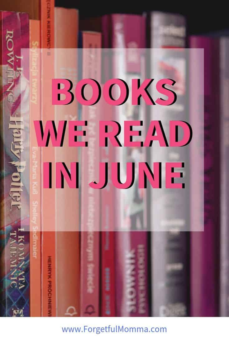 Books we Read in June