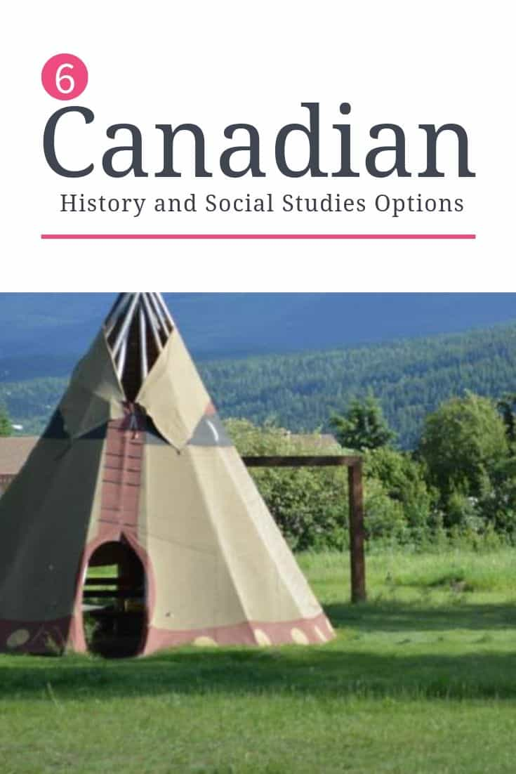 Canadian History and Social Studies Choices