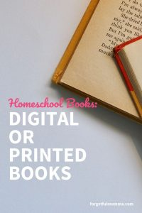 Digital or Printed Books