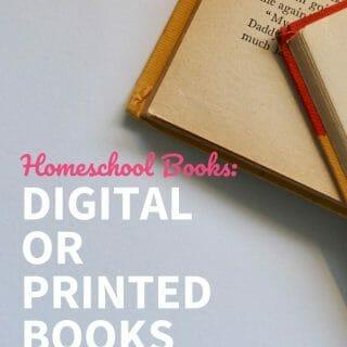 Digital or Printed Books