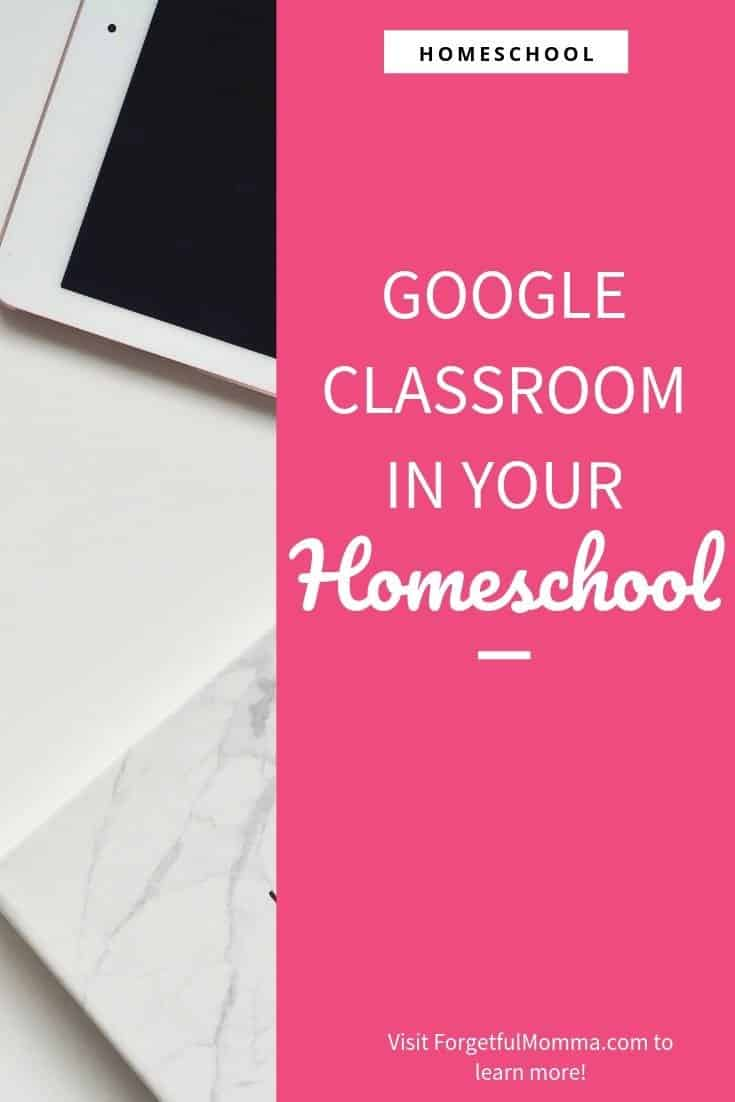 Google Classroom in Your Homeschool