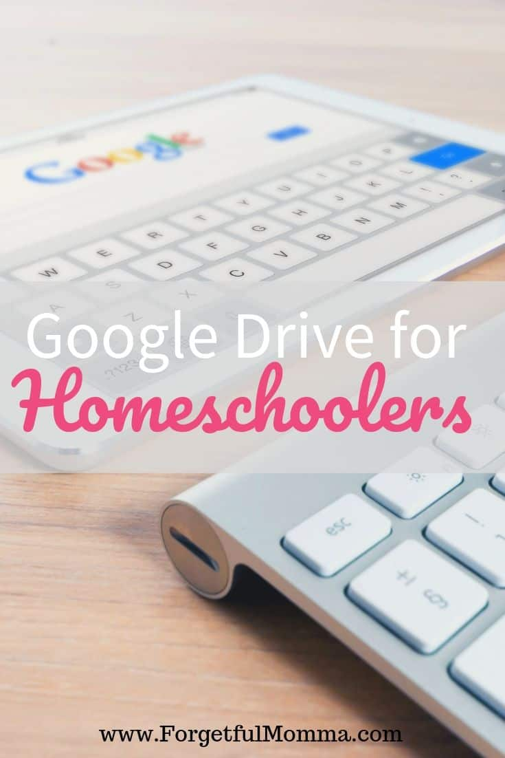 Google Drive for Homeschool