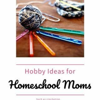 Hobby Ideas for Homeschool Moms