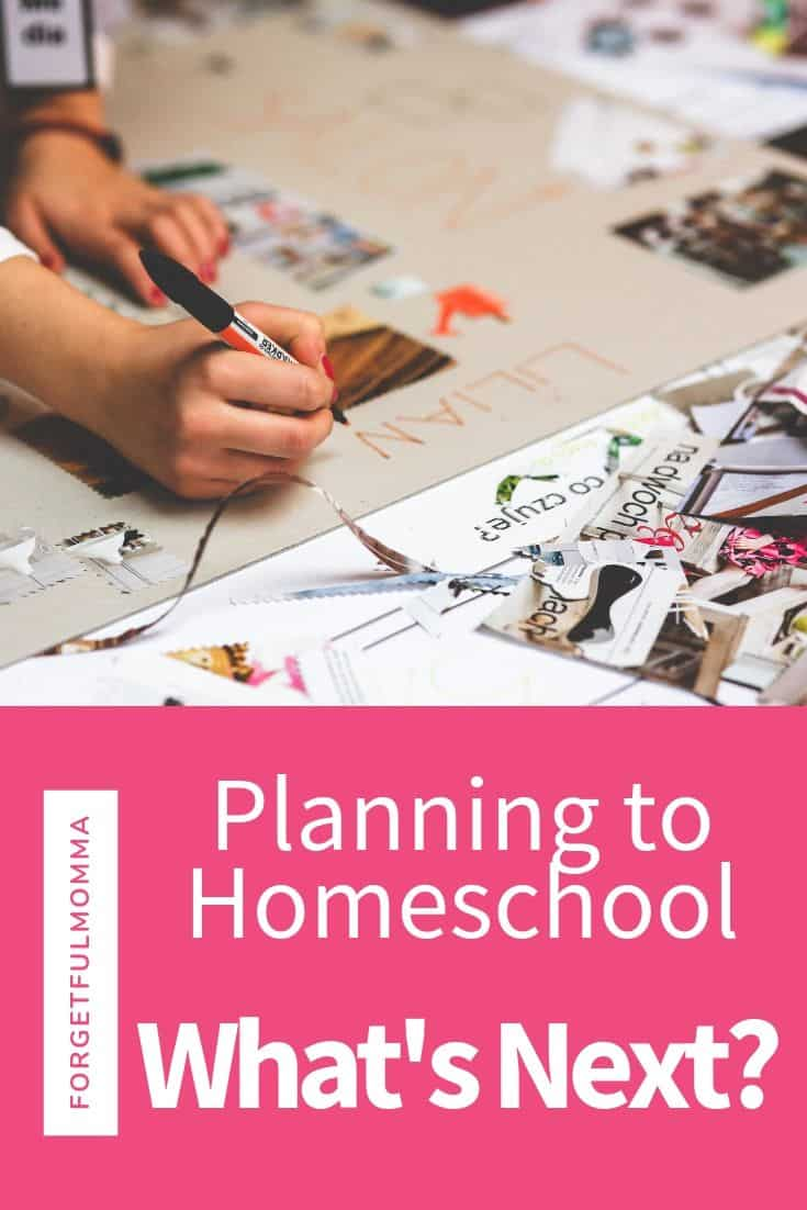 Planning to Homeschool, what's next