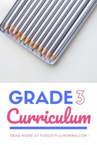 Grade 3 Curriculum Choices 2019-2020