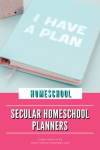 Secular Homeschool Planners