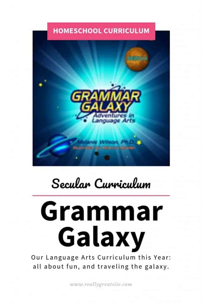 Grammar Galaxy - Secular Language Arts Curriculum