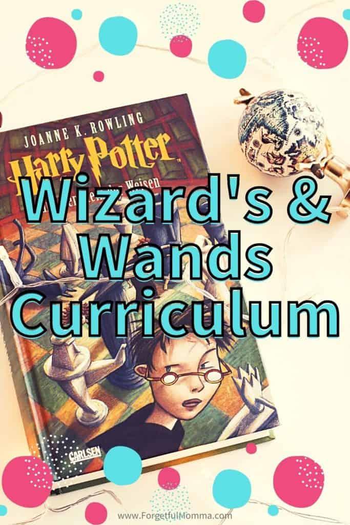 Wizard's & Wands Curriculum - harry potter book