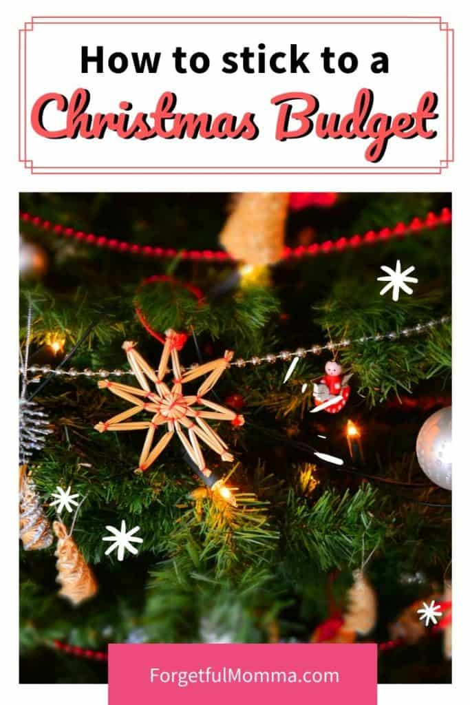 Keeping to a Christmas Budget this Year