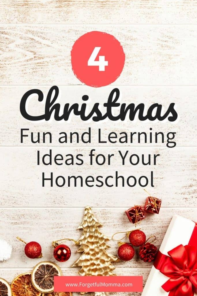 Christmas Fun and Learning for Your Homeschool