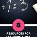 Resources for Learning Times Tables