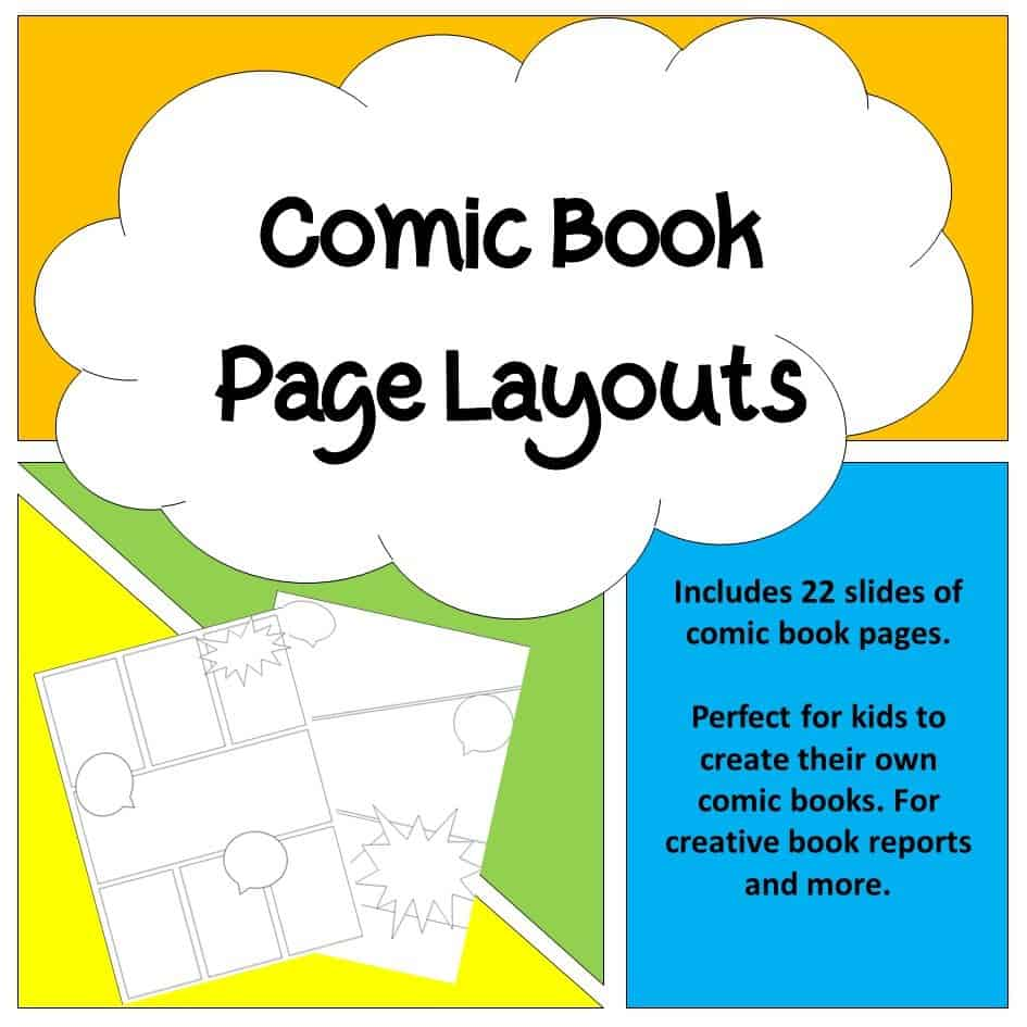 Comic Book Page Layouts