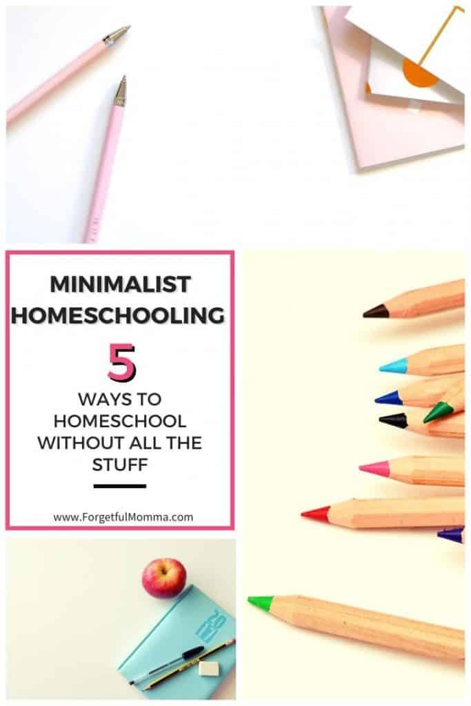 Minimalist Homeschooling - Homeschooling Without the Stuff