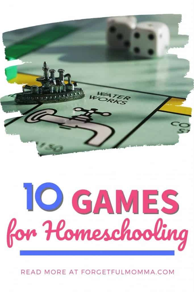 How to Make Homeschooling Exciting - Board Games for Homeschool