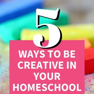 National Creativity Month - Creative in your homeschool