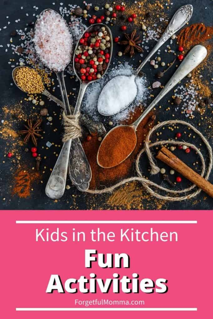 Kids in the Kitchen - Fun Activities
