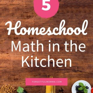 Homeschool Math in the Kitchen