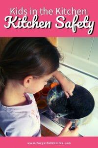 Kids in the Kitchen - Kitchen Safety