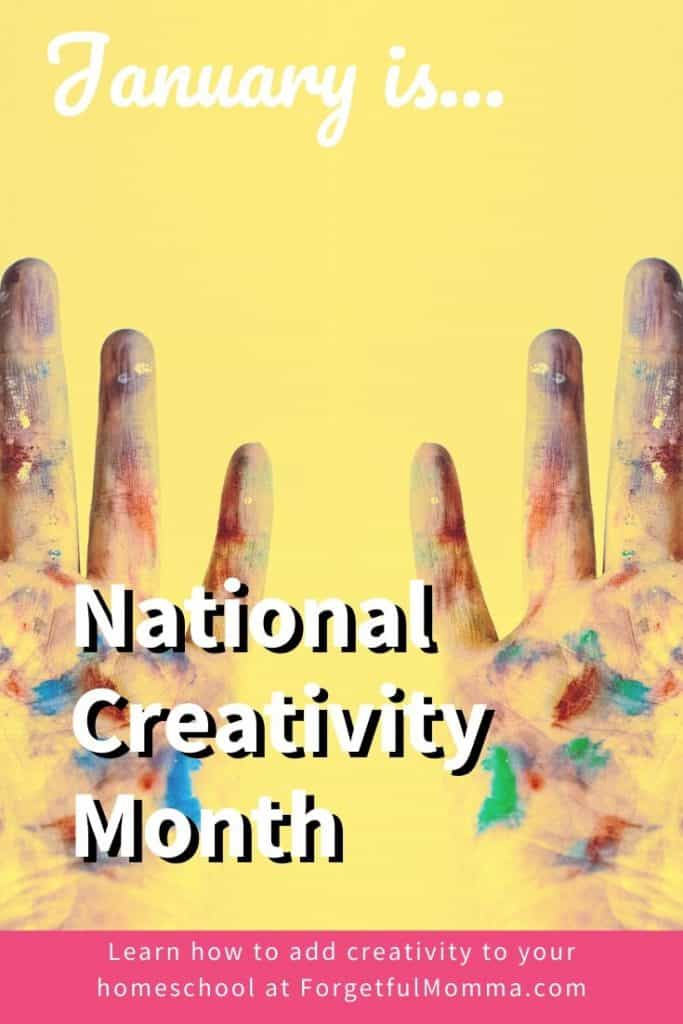 National Creativity Month - January