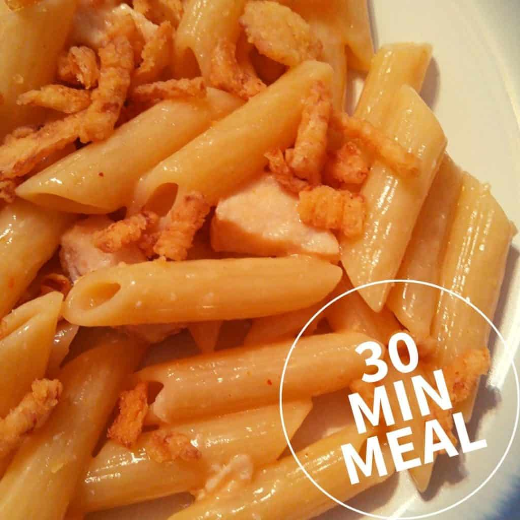 Bang Bang Chicken Pasta - 30 Minute Meal