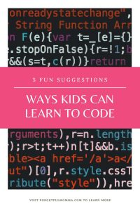 5 Ways Kids Can Learn to Code