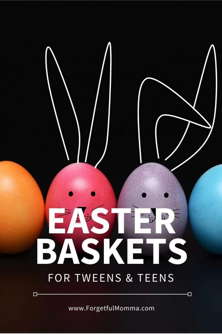 30 Easter Basket for Tweens & Teen Girls