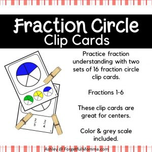 Fraction Clip cards - product cover