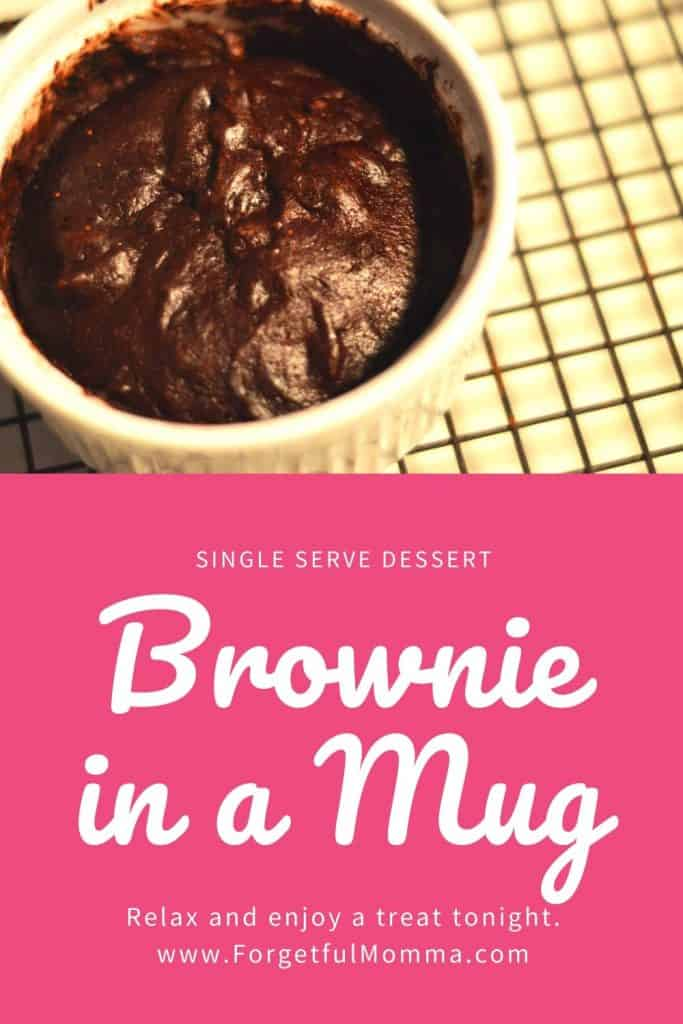 Single Serve Dessert - Brownie in a mug
