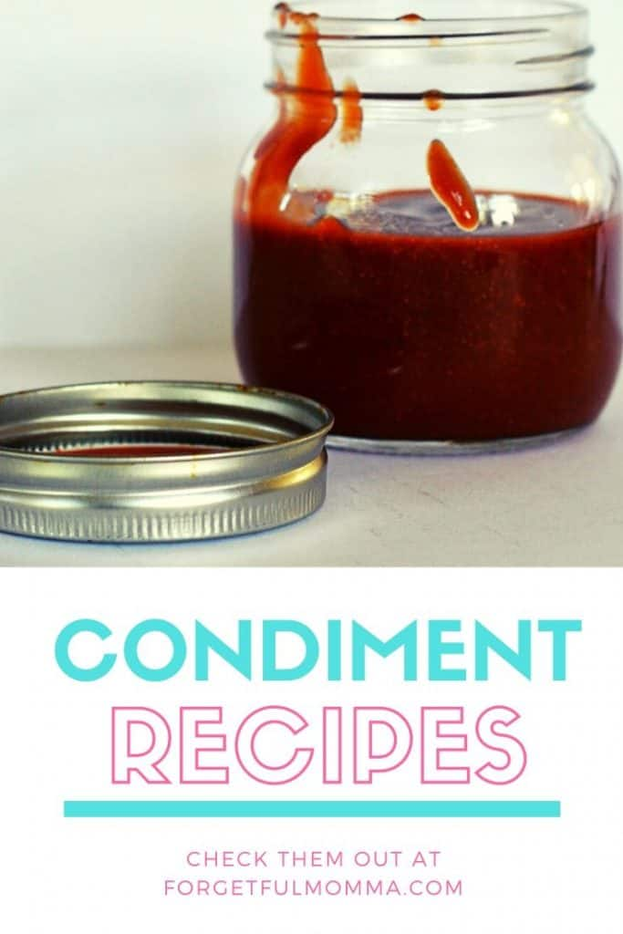 Condiment Recipes