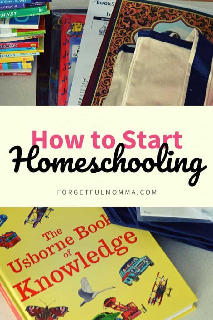 Homeschool Tips for Beginners - how to start homeschooling