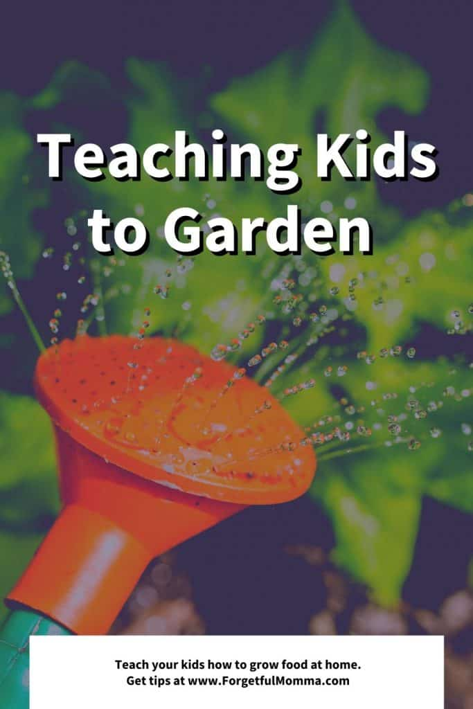 Teaching Kids to Garden in Our Homeschool