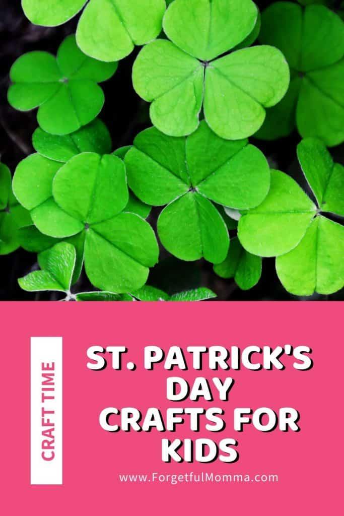 St. Patrick's Day Crafts for Kids 3 leaf clovers