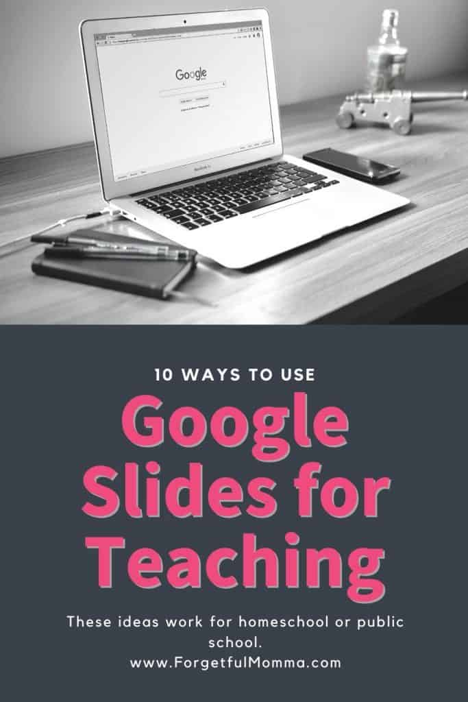 10 Ways to Use Google Slides for Teaching