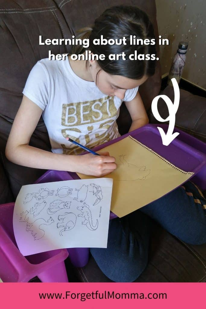 Online Art Curriculum for Homeschool