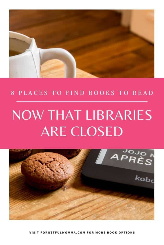 Where to Find Books Online With Libraries Closed