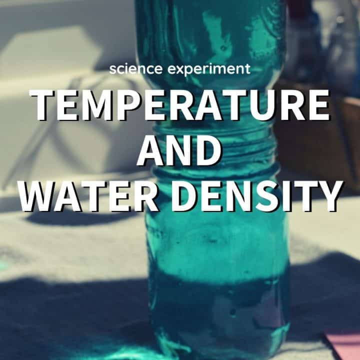 Temperature and Water Density