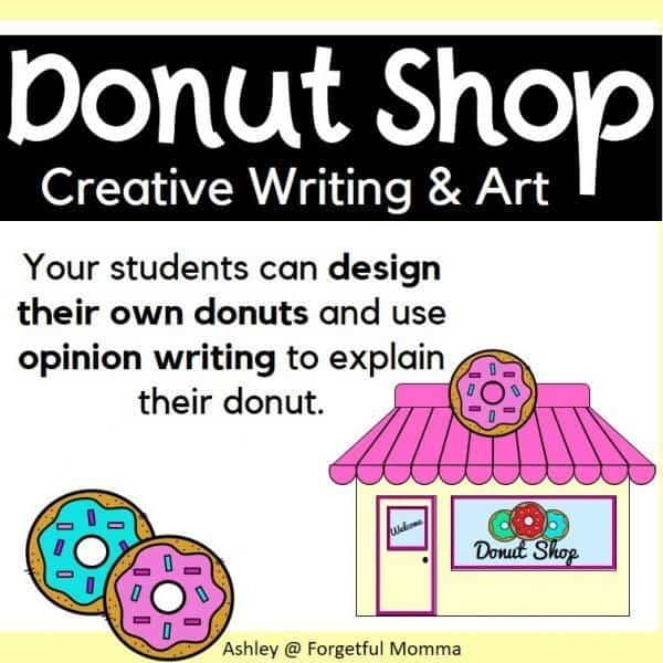 Donut Writing & Art-cover