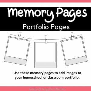 Portfolio Memory Pages