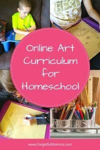 Online Art Curriculum for Homeschool