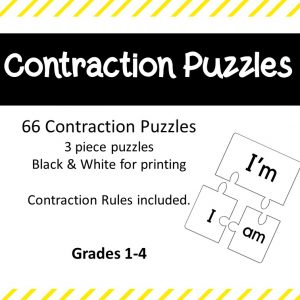 Contraction Puzzles product cover