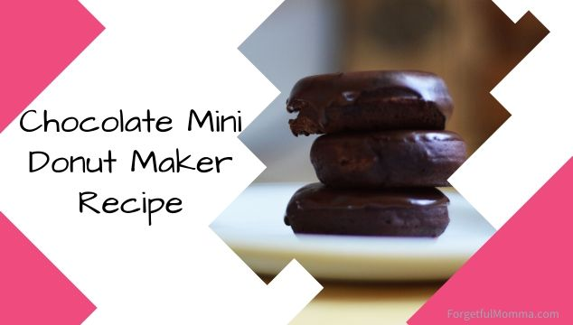 Bella Chocolate Mini Donut Maker Recipe