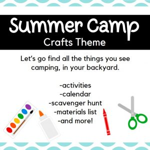 Backyard Summer Camp: Crafts