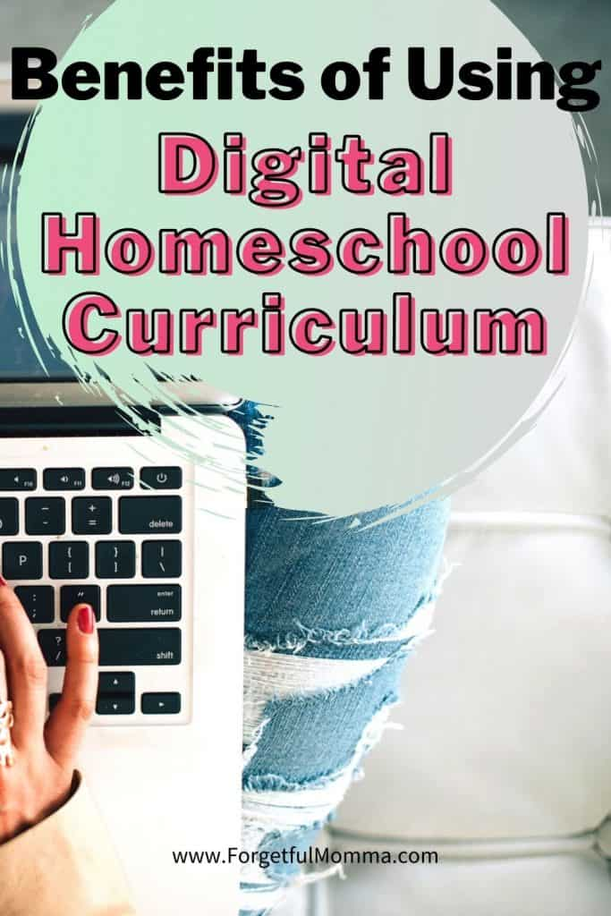 Benefits of Using Digital Homeschool Curriculum