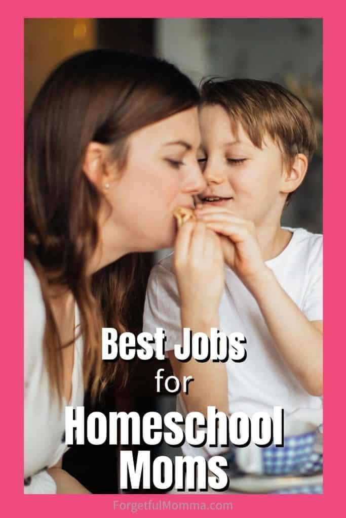 Best Jobs for homeschool moms