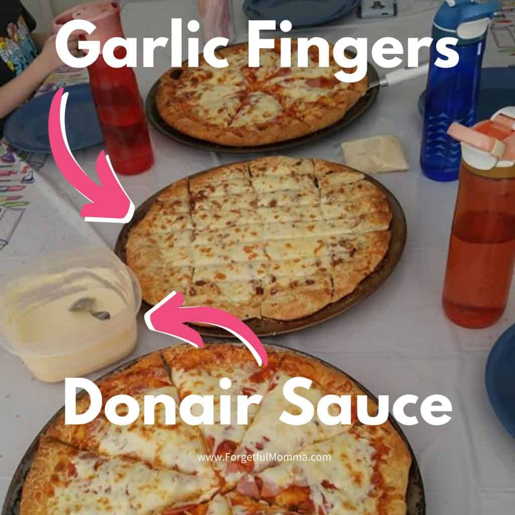 Donair Sauce Garlic Fingers