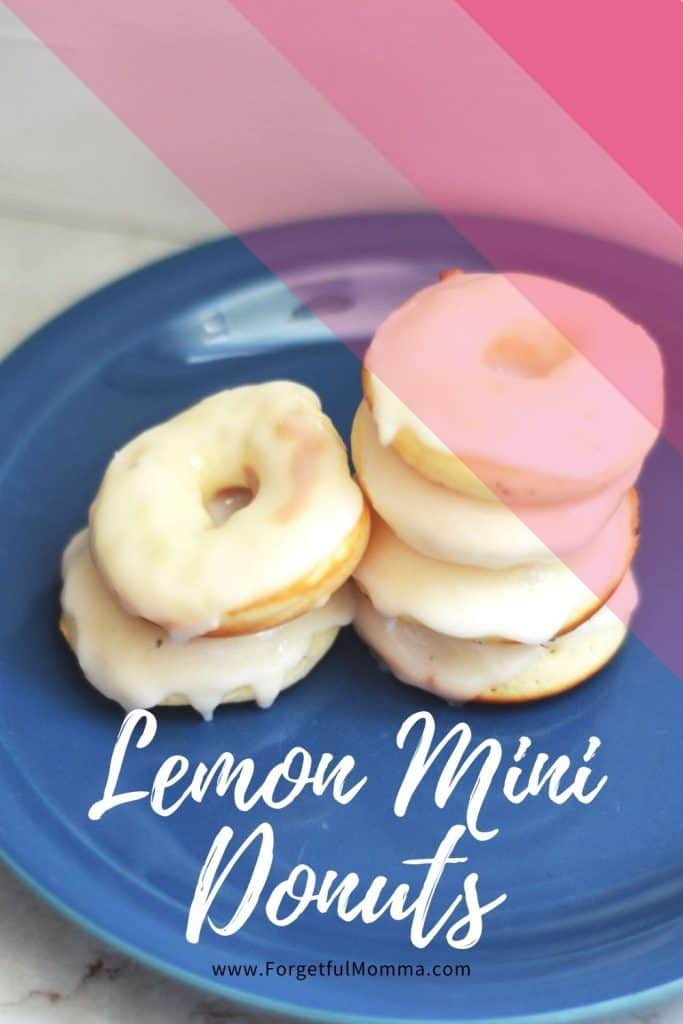 Lemon mini donuts